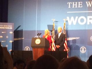 Vice Preseident Joe Biden, Dr. Jill Biden